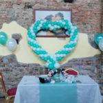 Allestimenti palloncini per matrimoni - Happypartyshop
