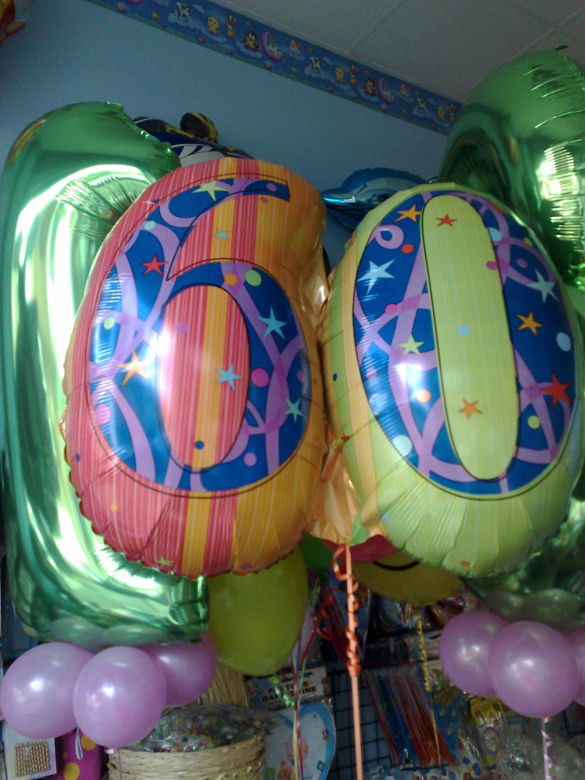 palloncino 60 anni