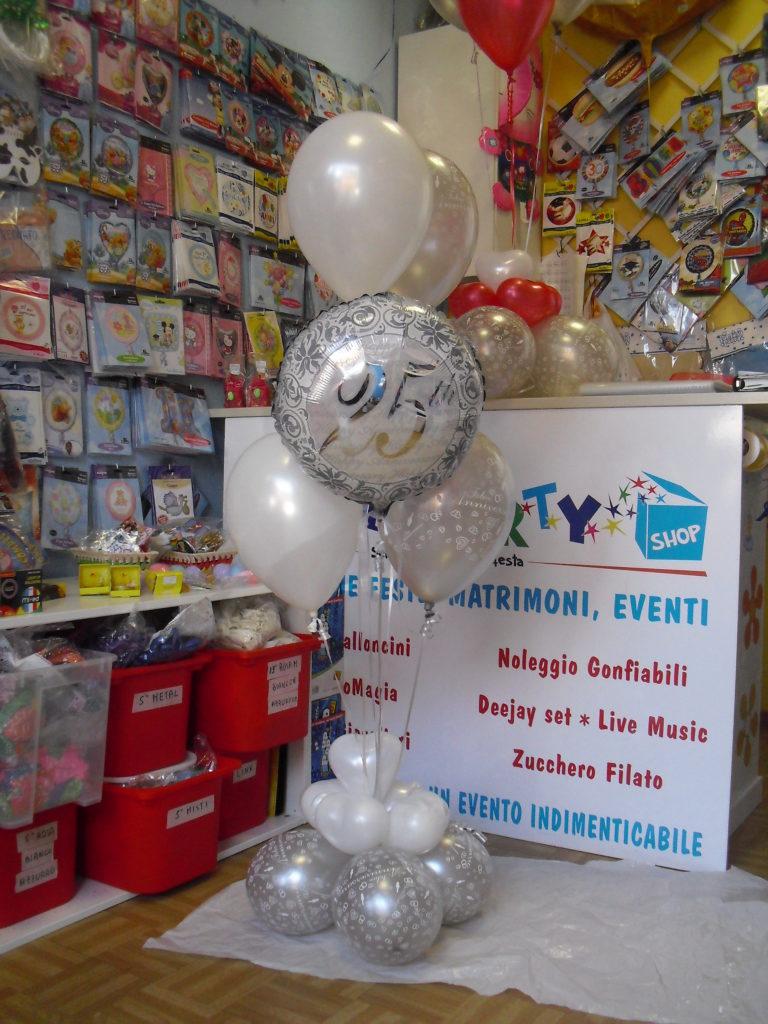 Eccezionale Allestimenti palloncini gadget per Anniversari Happy Party SA54