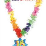 collana hawaiana 18 anni