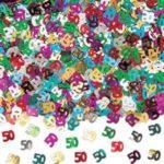 confetti 50 anni