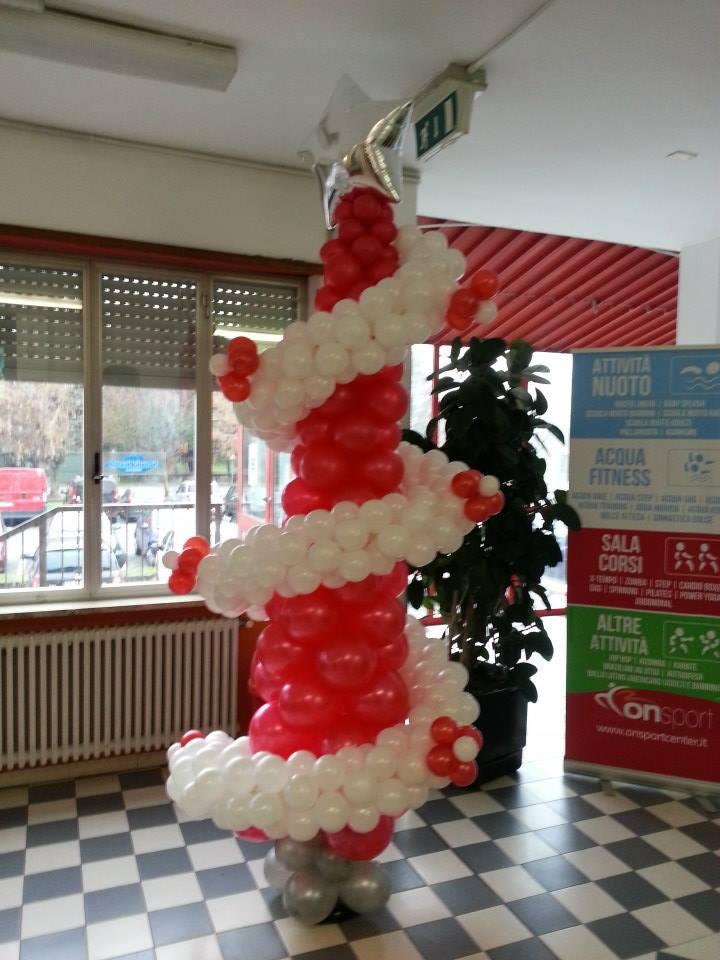 Palloncini di natale decorazioni natalizie happy party shop for Albero natale gonfiabile