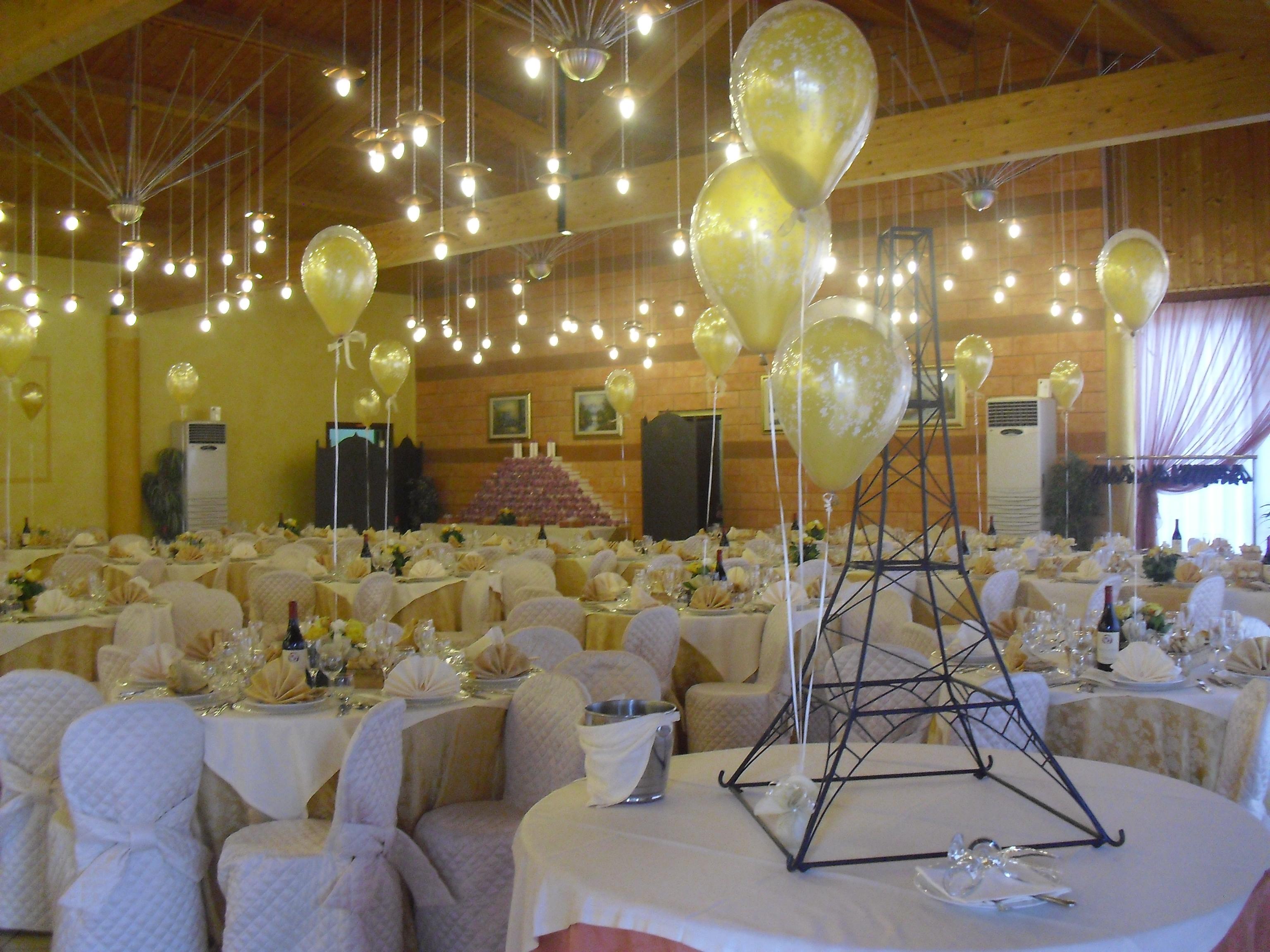 Allestimenti palloncini per matrimoni speciale sposi happy party - Addobbi sala matrimonio ...