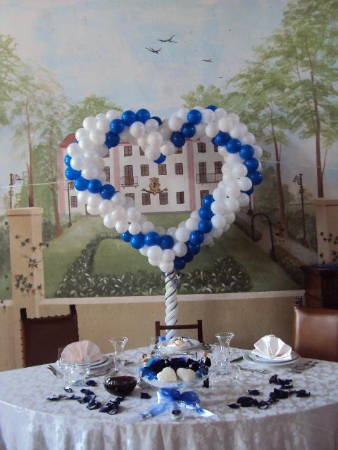 Allestimenti Palloncini Forma di Cuore per Matrimoni Happy Party