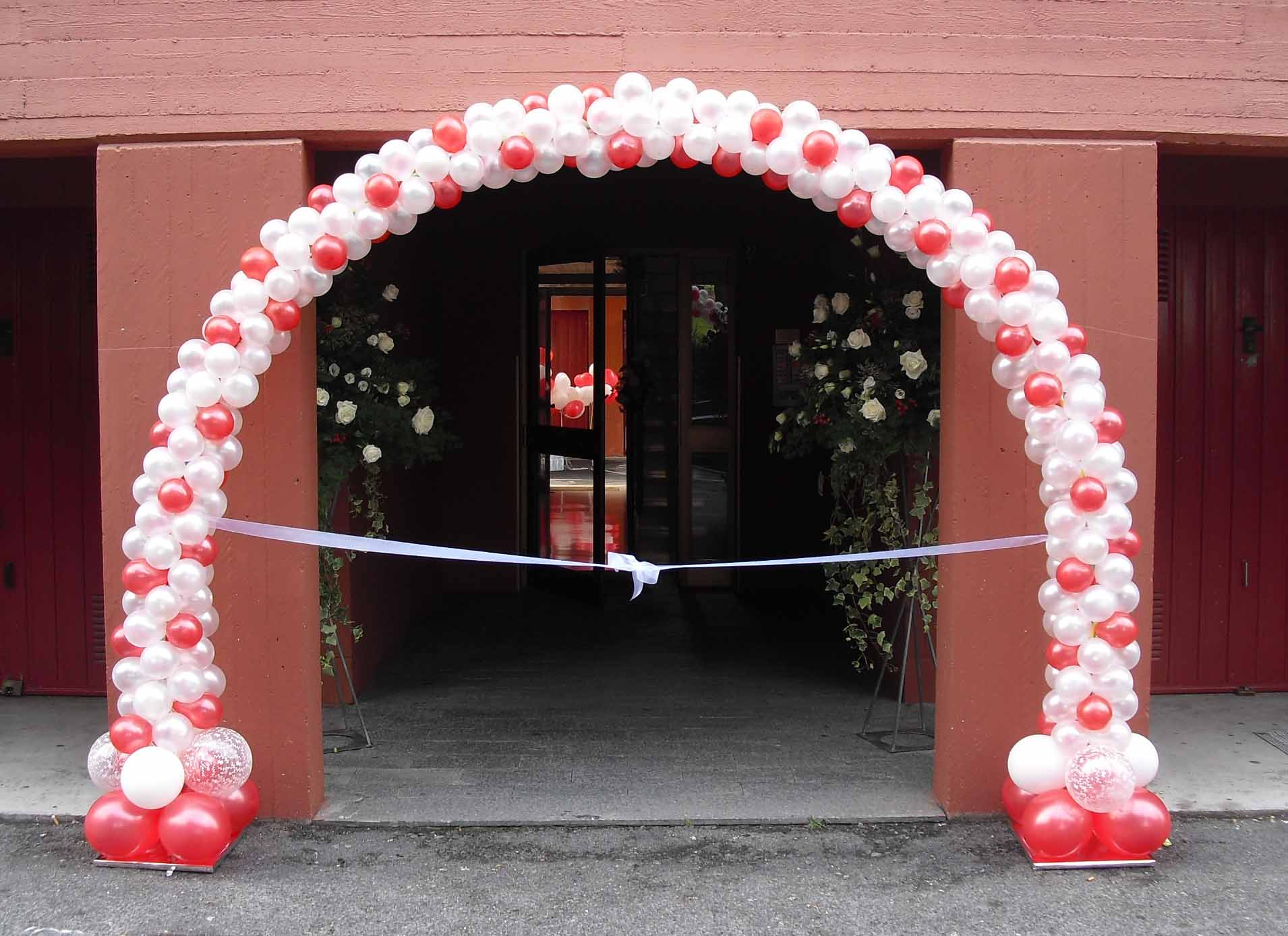 spesso Allestimenti Palloncini per Matrimoni, Arco di palloncini, Addobbi  LR97