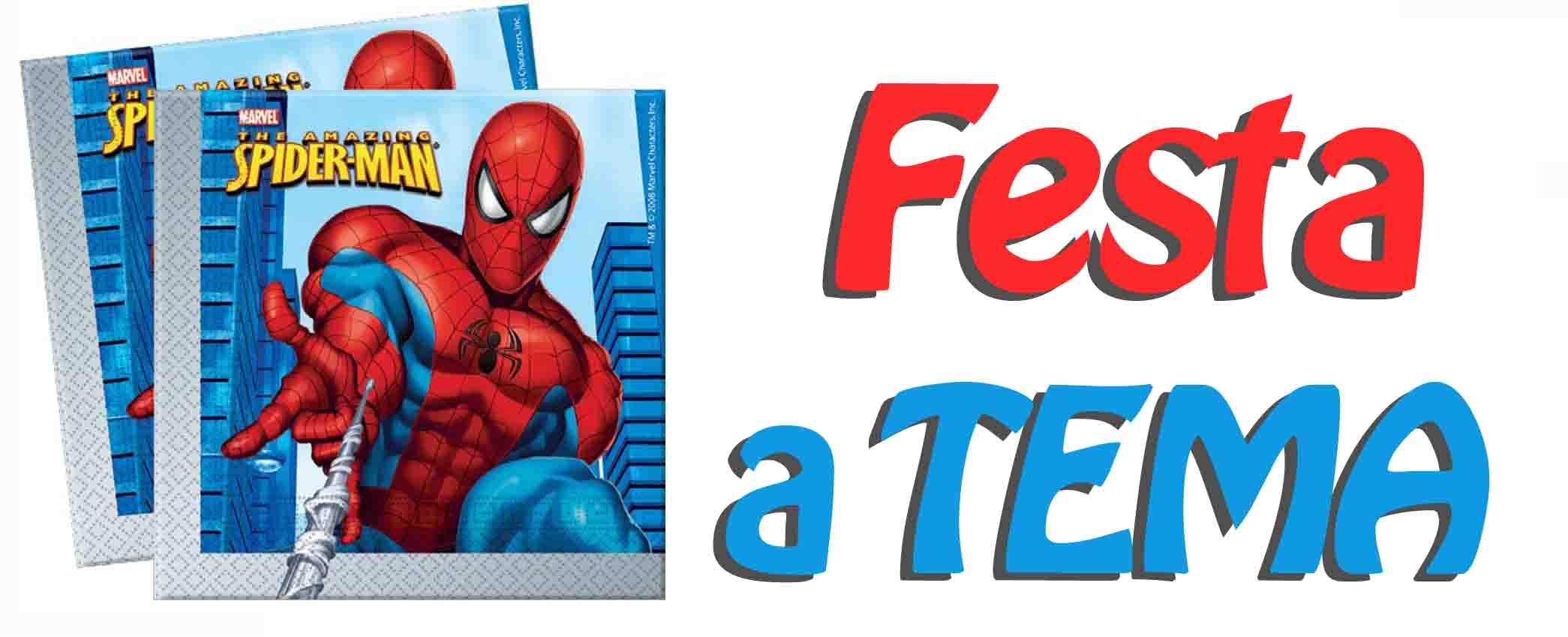 Festa Spiderman Addobbi E Decorazioni Compleanno A Tema  Car Interior