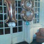 palloncini 18 anni festa