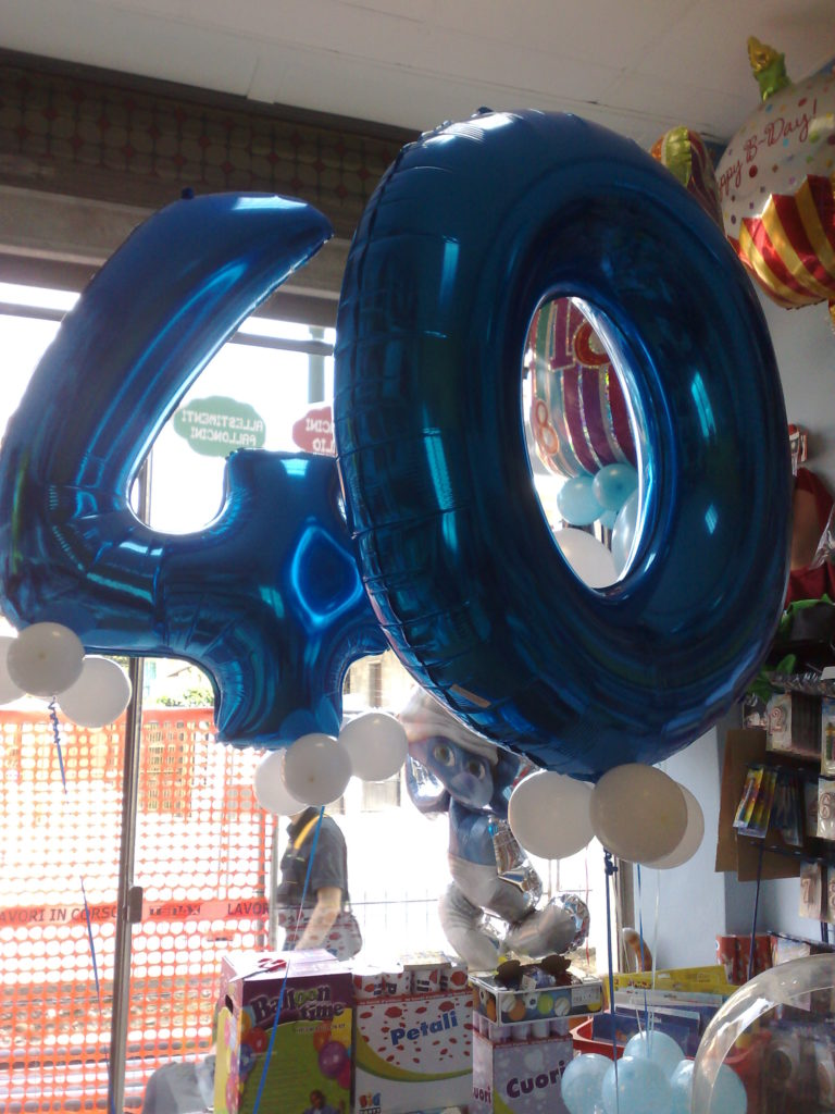 Festa Compleanno 40 Anni Uomo articoli feste compleanno - palloncini 40 anni happy party