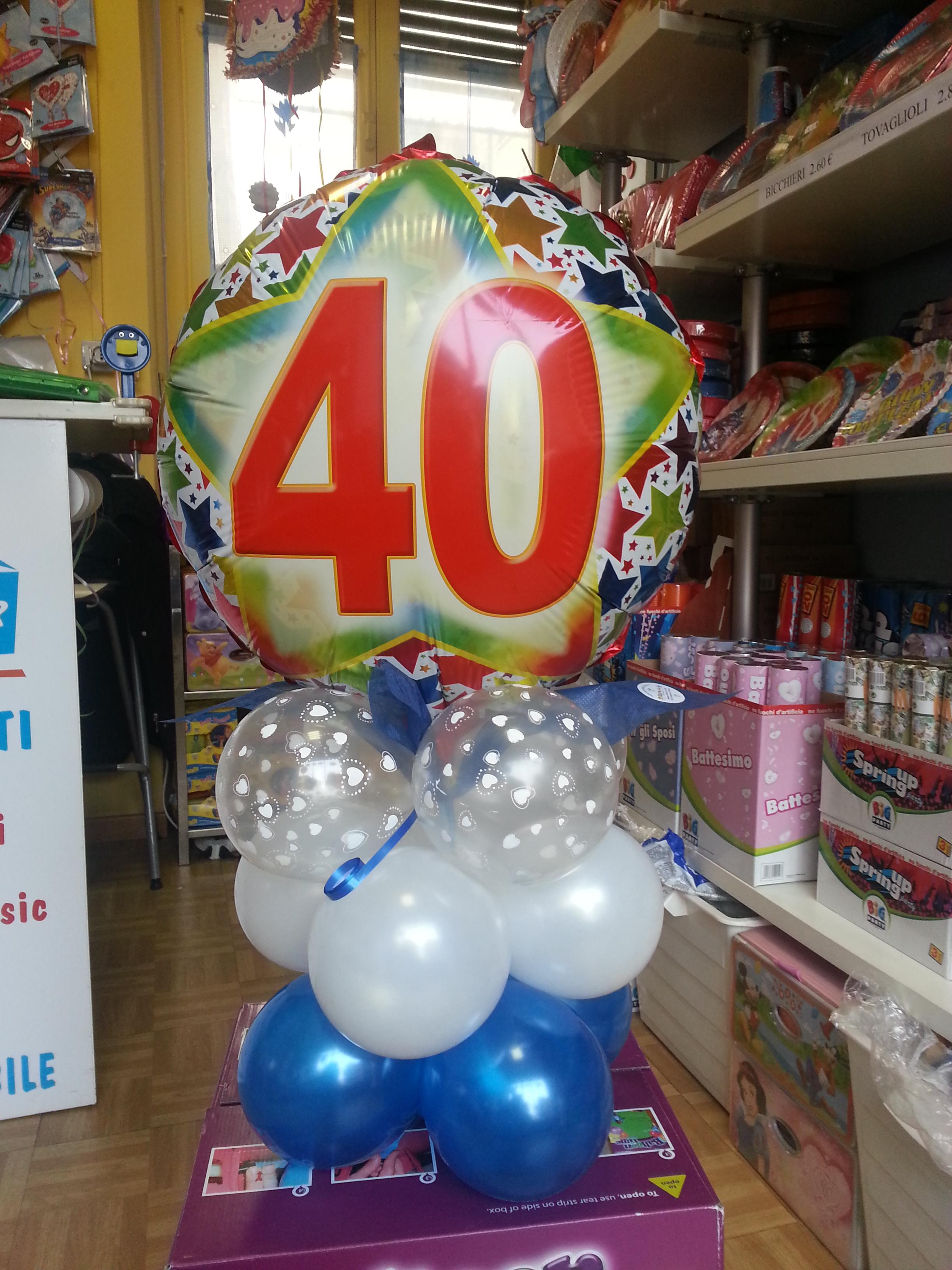 Festa Compleanno 40 Anni articoli feste compleanno - palloncini 40 anni happy party