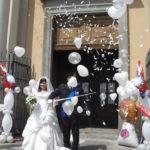 mongolfiera sposi
