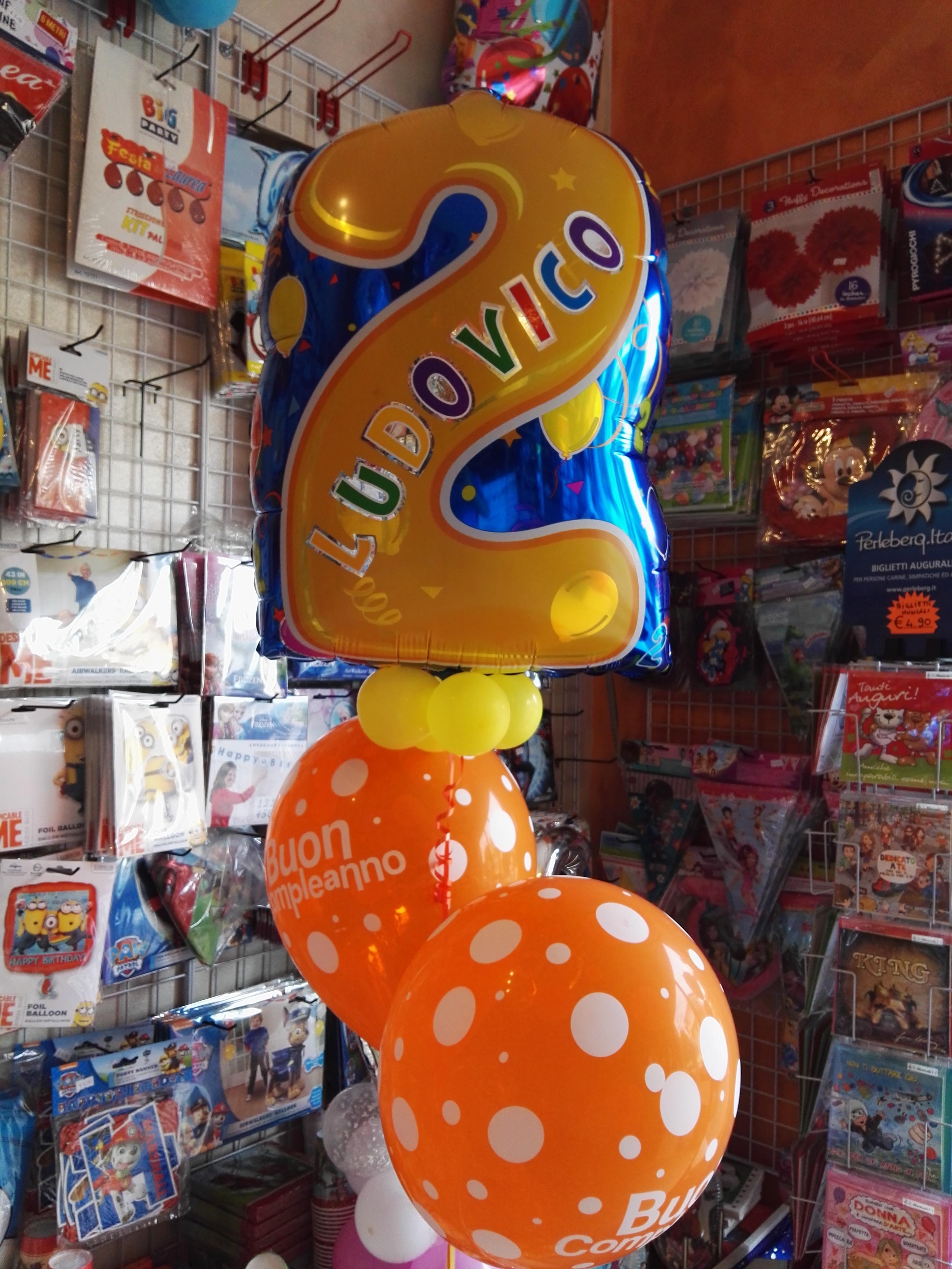 allestimenti palloncini numeri