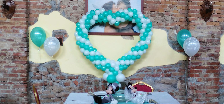 Allestimenti matrimoni palloncini - Happyparty shop