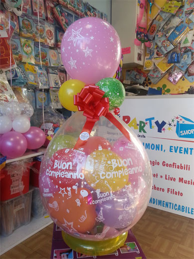 Articoli per la festa - palloncini decorazioni - happy party shop torino