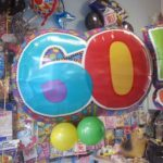 composizione-palloncini-compleanno 60 anni