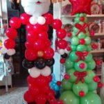 palloncini albero di natale auguri natale