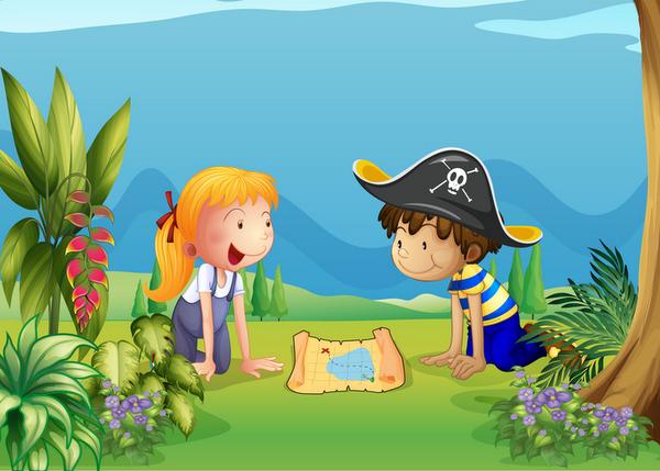 Caccia Al Tesoro Bambini 3 Anni : Animazione feste per bambini caccia al tesoro happy party