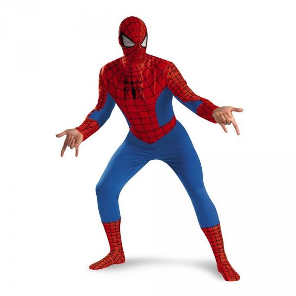 noleggio-costume spiderman-deluxe-adulto