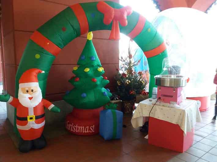 Decorazioni Natalizie Gonfiabili.Palloncini Di Natale Decorazioni Natalizie Happy Party Shop