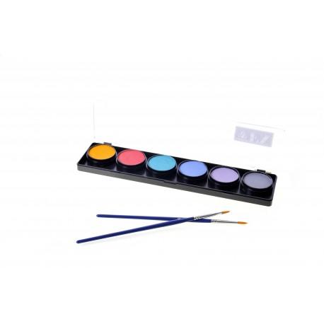 tavolozza-6-colori-pastelli-colori-truccabimbi-tavolozza-diamond-fx-vendita-online-migliori-prodotti-pennelli