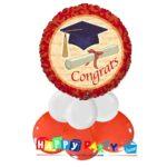 centrotavola palloncino festa laurea congrats