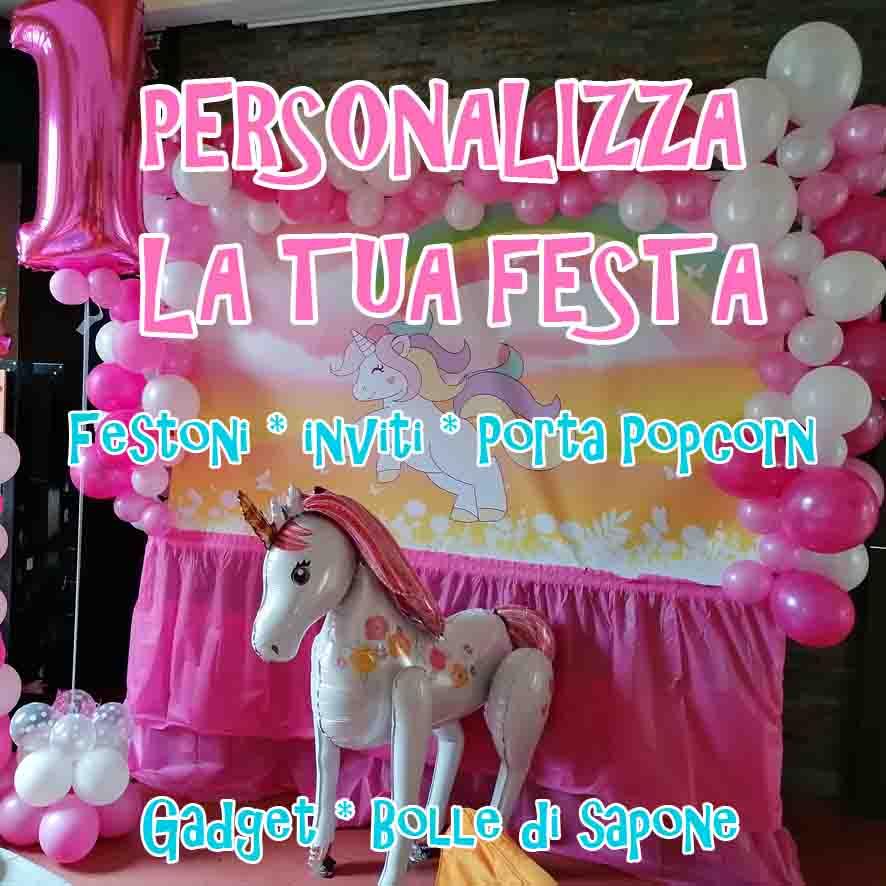 festa personalizzata