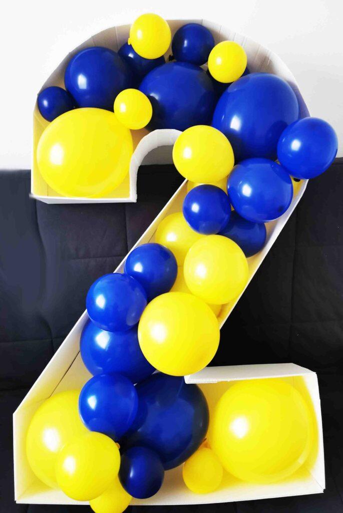 numero di palloncini