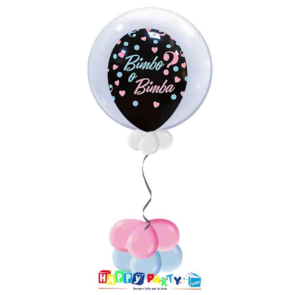 palloncini Bubble bimbo bimba boy or girl