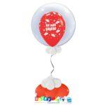 palloncini Bubble la mia laurea