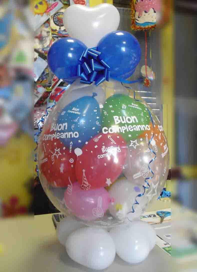 regalo nel palloncino