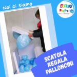 scatola sorpresa palloncino
