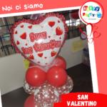 palloncini cuori san valentino