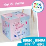 allestimenti palloncini scatola sorpresa nascita