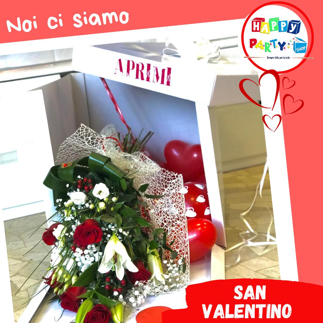 scatola sorpresa San Valentino