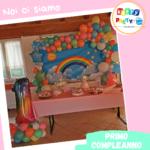 primo compleanno arcobaleno