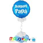 composizione palloncino mylar festa del papà