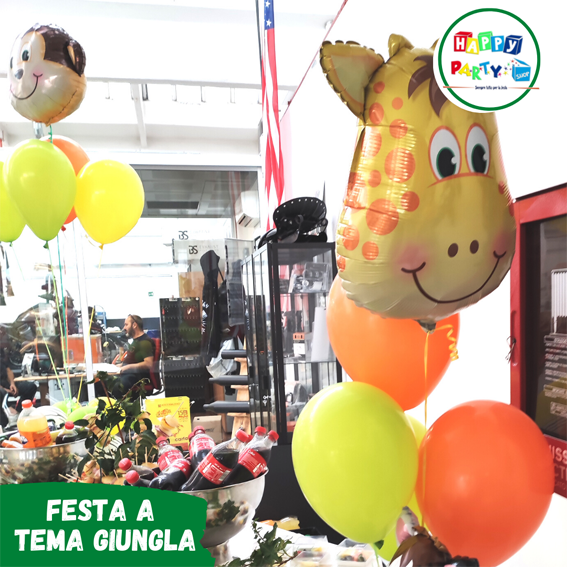 festa-tema-giungla-palloncini